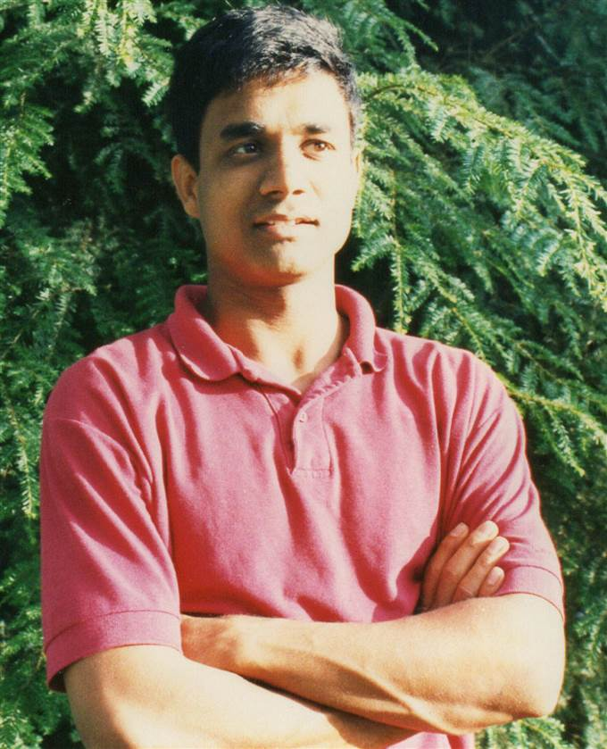 26-year-old Sujit Saraf when Naatak had first started in the San Francisco Bay Area.