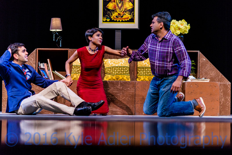Once again, the key to making memorable images of performances is to capture just the right instant where the dramatic tension is high.  In this image, the woman is trying to defuse a fight between her husband and her lover.  In post-processing, I cropped the image slightly so as to increase the tension and maximize the storytelling potential.