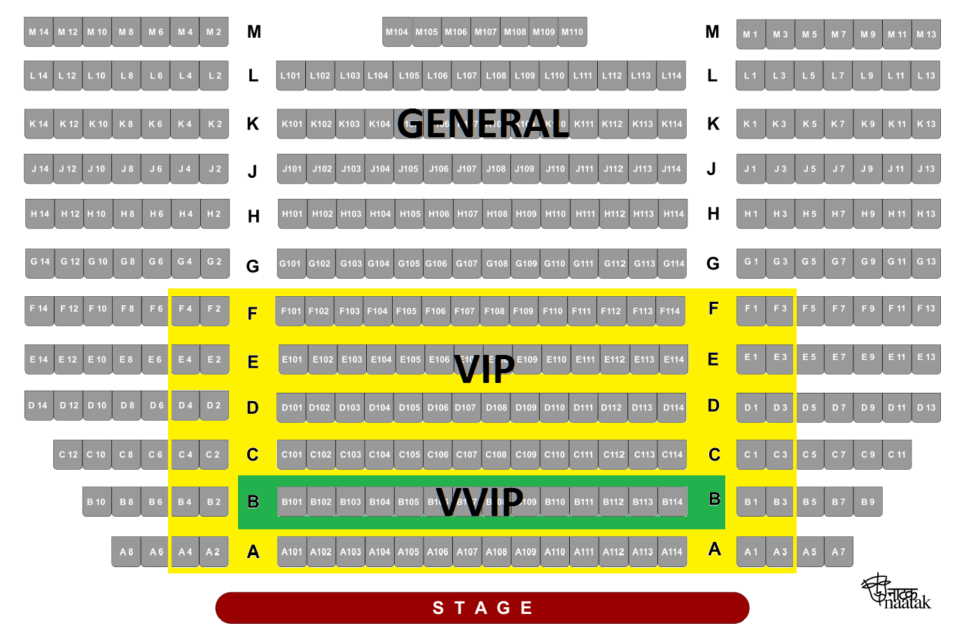 Cubberley Theater Palo Alto Seating Chart